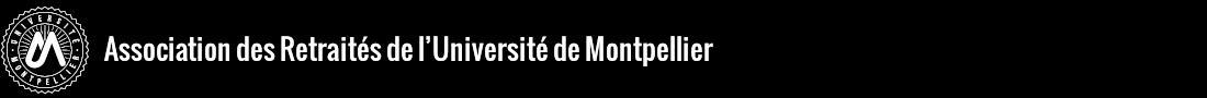 Association des retraités de l'Université de Montpellier Logo